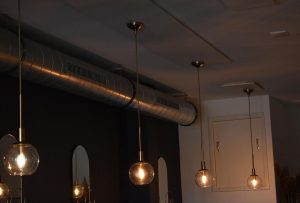 Led verlichting restaurant